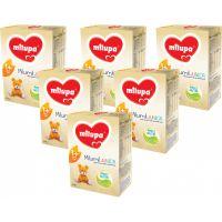 PACK04_001w Lapte praf Milupa Milumil Junior 1+, 6 pachete x 600 g