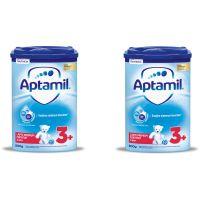 PACK57_001w Lapte praf Aptamil Junior 3+, 2 pachete x 800 g