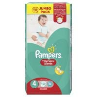 Scutece Pampers Pants Active Baby 4 Maxi, 52 buc, 9 - 14 kg