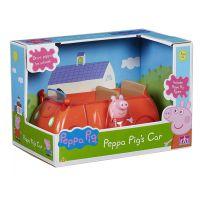 PEP06059_001w Set Peppa Pig, Figurina Peppa cu masinuta