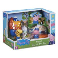 PEP07173_001w Set figurine Peppa Pig, Zoo