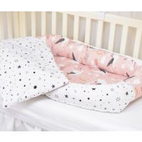 PF110_001 Set 4 Piese Baby nest Paturica Fermecata, Lebede Stelute, roz