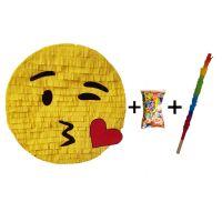 Pinata cu bat si confetti Emoji Pupic, PinaStar