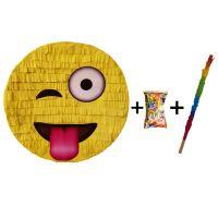 Pinata cu bat si confetti Emoji Zurliu, PinaStar