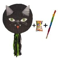 Pinata cu bat si confetti Pisica Malefica, PinaStar