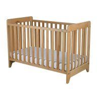 PL07N_001 Patut din lemn, pentru copii, Primii Pasi, 3 in 1, 120 x 60 cm