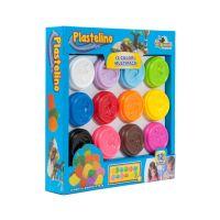 Plastelino - Set 12 culori de Plastilina