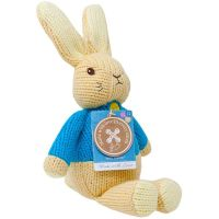 PO1540_001w Jucarie bebelusi Peter Rabbit, Made with Love, 30 cm