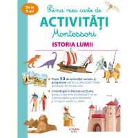 CEDMONT19_001w Prima mea carte de activitati Montessori, Istoria lumii