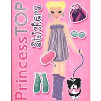 Princess TOP- Stickers roz