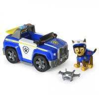 Figurina si autovehicul Paw Patrol, Chase si masina de politie