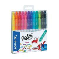 PSW-FC-S12_001w Carioca Pilot, Frixion Color, set 12 culori