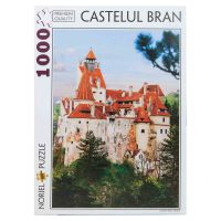 Puzzle NORIEL Colectia Romania Turistica - Castelul Bran (1000 piese)