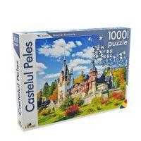 Puzzle Noriel Peisaje din Romania - Castelul Peles (1000 piese)
