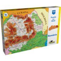 Puzzle Noriel cu harti 100 de piese - Harta Romaniei NOR2792