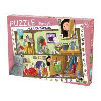 Puzzle Noriel cu povesti 240 de piese - Alba ca Zapada NOR3034
