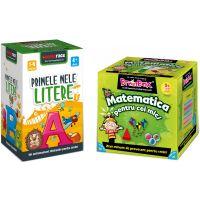 LG0052_001w Pachet educativ BrainBox, Matematica pentru cei mici si MemoRace, Primele mele litere