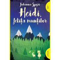 PX1107_001w Carte Editura Arthur, Heidi, fetita muntilor, Johanna Spyri