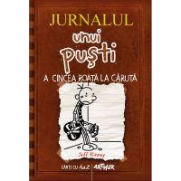 PX1192_001w Carte Editura Arthur, Jurnalul unui pusti 7. A cincea roata la caruta, Jeff Kinney
