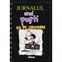 PX1194_001w Carte Editura Arthur, Jurnalul unui pusti 10. Ca pe vremuri, Jeff Kinney