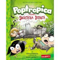 PX1229_001w Carte Editura Arthur, Poptropica 3. Societatea secreta, Mitch Krpata, Kory Merritt