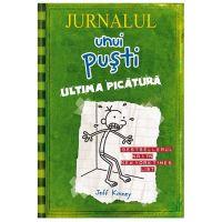 PX1258 Carte Editura Arthur, Jurnalul unui pusti 3. Ultima picatura, editie noua