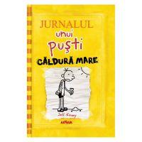 PX1259 Carte Editura Arthur, Jurnalul unui pusti 4. Caldura mare, editie noua