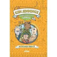 PX1265_001w Carte Editura Arthur, Cartile micului geniu. Mitologia greaca, Ken Jennings