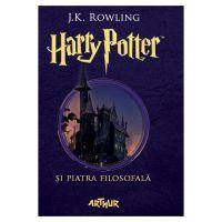 Carte Editura Arthur, Harry Potter 1 si piatra filosofala, editie noua