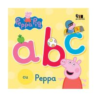 PX132_001w Carte Editura Arthur, ABC cu Peppa