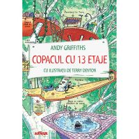 PX1370_001w Carte Editura Arthur, Copacul cu 13 etaje, Andy Griffiths, editie noua