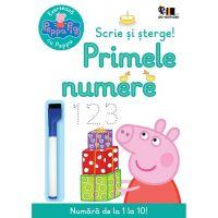 PX138_001w Exerseaza cu Peppa Pig, Scrie si sterge primele numere