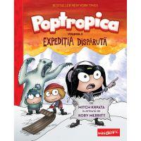 PX142_001w Carte Editura Arthur, Poptropica 2. Expeditia disparuta, Mitch Krpata