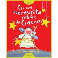PX176_001w Carte Editura Arthur, Cea mai reusita serbare de Craciun, Barbara Robinson
