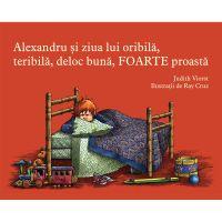 PX322_001w Carte Editura Arthur, Alexandru si ziua lui oribila, teribila, deloc buna, foarte proasta, Judith Viorst