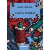 PX441_001w Carte Editura Arthur, Razboiul bumbilor, Louis Pergaud