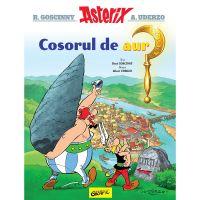 PX542_001w Carte Editura Arthur, Asterix 2. Asterix si cosorul de aur, Rene Goscinny, Albert Uderzo
