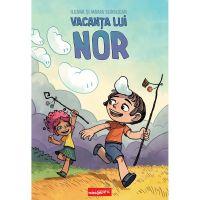 PX722_001w Carte Editura Arthur, Vacanta lui Nor, Ileana Surducan, Maria Surducan