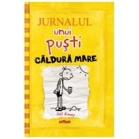 PX808_001 Carte Editura Arthur - Jurnalul unui pusti 4. Caldura mare