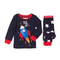 20203268 Pijama cu imprimeu Blast Off Minoti Pyja