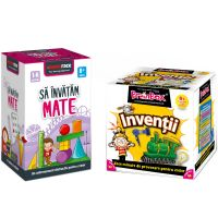 LG0056_001w Pachet educativ BrainBox, Inventii si MemoRace, Sa invatam mate