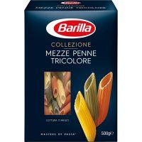 R1415_001w Paste Mezze Penne Tricolore Barilla, 500 g