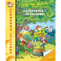Calatoriile, ce pasiune!, Geronimo Stilton