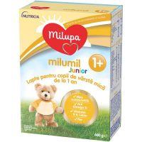 Lapte praf de crestere Milupa Milumil Junior 1+, 600g