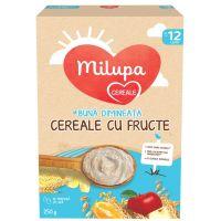 657551_001w Cereale integrale cu lapte si fructe Milupa Milumil, 225 g, 12 luni +