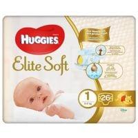 2582001_001w Scutece Huggies Eelite Soft Convi, nr 1, 3-5 kg, 26 buc