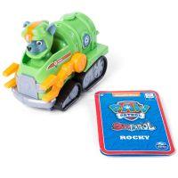 Figurina cu vehicul de salvare Paw Patrol, Rocky