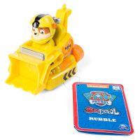 Figurina cu vehicul de salvare Paw Patrol, Rubble