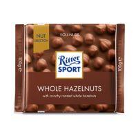 RITTALUNE_001w Ciocolata cu alune intregi Ritter, 100 g