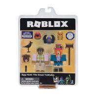 ROB19840_003w Set 2 figurine articulate Roblox Celebrity, Egg Hunt The Great Yolktales (ROG0119)